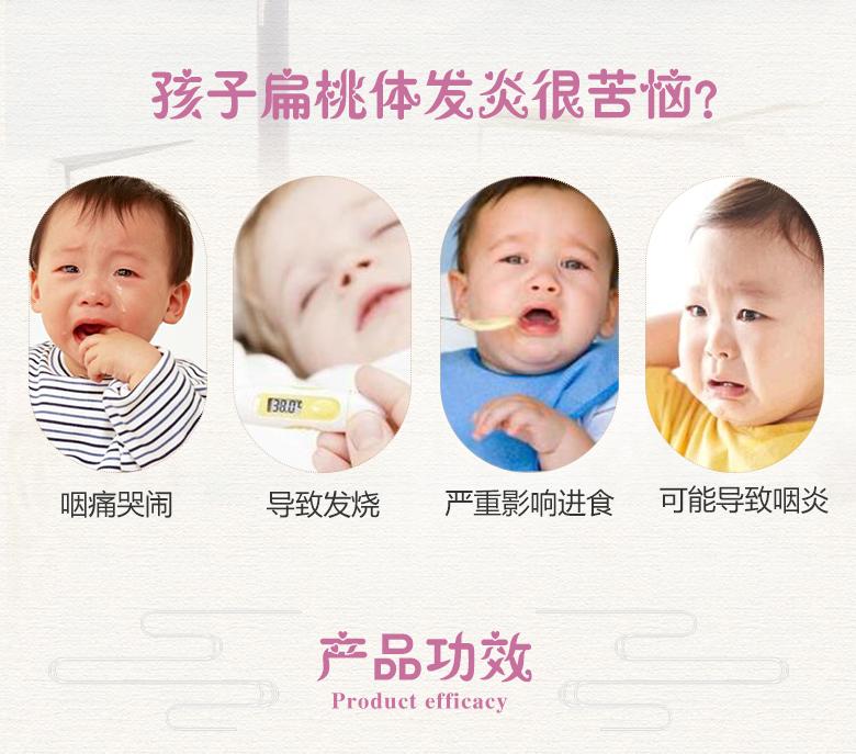 孩子扁桃体发炎有哪些症状